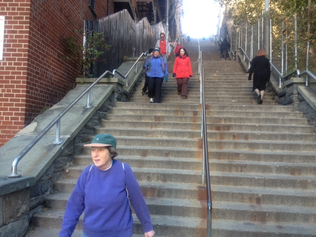 Our local stepstreet--130 steps. But who's counting?